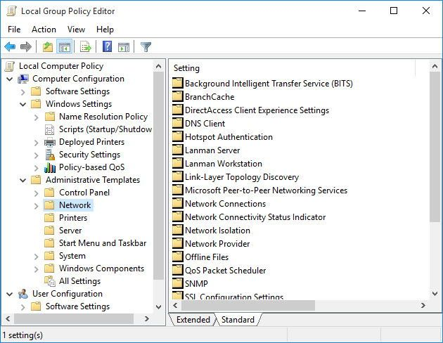 Install Editor Of Group Policy