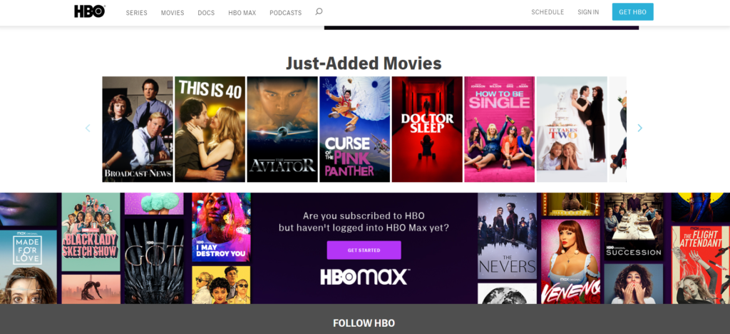 activate HBO GO on smart tv